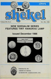 The Shekel, vol. 19, no. 6
