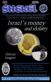 The Shekel, vol. 48, no. 4