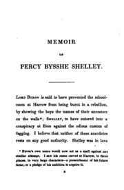 percy bysshe shelley essay on christianity By percy bysshe shelley [the essay on the devil and devils because of its charming wit and good-natured sarcasm is one of shelley's most delightful essays.