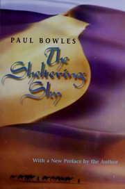 The Sheltering Sky Paul Bowles Pdf