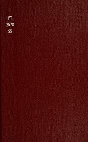 Sigfried der Cherusker : dramatische Dichtung in fünf Aufzügen