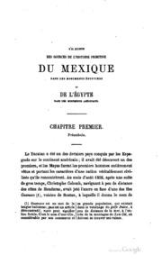S-il existe des sources de l-histoire primitive du Mexique dans les ...