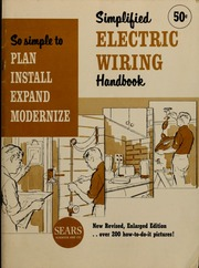 Swell Simplified Electric Wiring Handbook So Simple To Plan Install Wiring Cloud Hisonuggs Outletorg