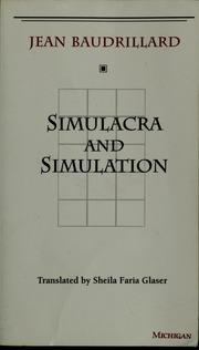 Baudrillardian simulation dating