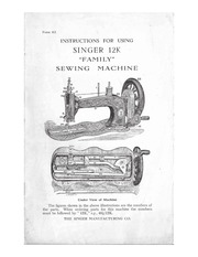 Singer 12 K : Free Download, Borrow, and Streaming : Internet Archive