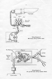 singer motor wiring diagrams : free download, borrow, and streaming :  internet archive  internet archive
