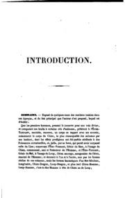 Sirius, aperçus nouveaux sur l-origine de l-idolatrie. Introduction