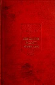 sir walter scott thesis