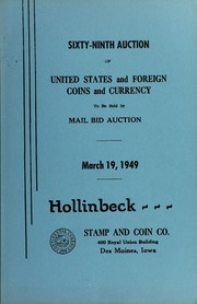 Sixty-Ninth Auction of United States and Foreign Coins and Currency