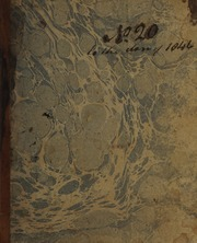 Sketch-book no. 20--Oct. 8-Dec. 31, 1846, No. 20
