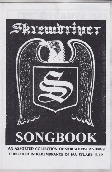 Skrewdriver Songbook (1997) : Free Download, Borrow, and ...