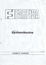 Farfisa Syntorchestra Service Manual : Free Download, Borrow ... on