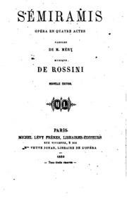 Sémiramis: opéra en quatre actes