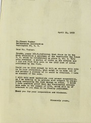 Smithsonian Correspondence, 1952-2001 (pg. 84)