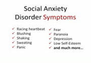 Social Anxiety Disorder Symptoms - What to Look Out For ...