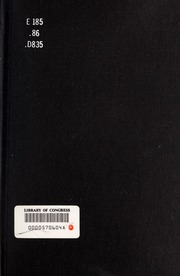 discrimination of the black society in the black reconstruction by william edward burghardt dubois William edward burghardt dubois is on to connect with william edward burghardt  and my 1935 magnum opus black reconstruction in america challenged the.