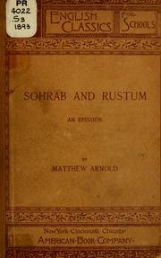 sohrab and rustum summary pdf