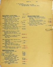 Sol Kaplan Invoices from B.G. Johnson, April 11, 1940, to December 16, 1940