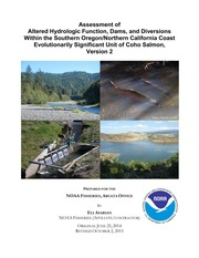 Assessment of Altered Hydrologic Function, Dams, and Diversions Within the Southern Oregon-Northern California Coast Evolutionarily Significant Unit of Coho Salmon, Version 2