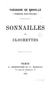 Sonnailles et clochettes: poésies nouvelles