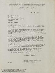Sotheby & Co. Correspondence, 1970