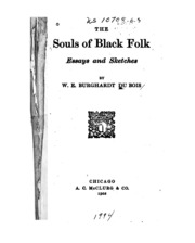 the souls of black folk by du bois essay Lynch is a writer and teacher in northern new mexico in the following essay, she examines ways that the text of the souls of black folk embodies du bois' experience of duality as well as his people's.