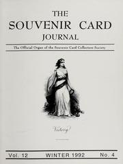 The Souvenir Card Journal: Winter 1992, Vol. 12 No. 4
