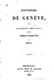 Vol 2: Souvenirs de Genève