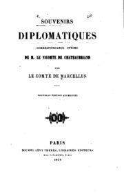 Souvenirs diplomatiques