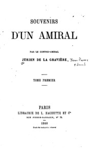 Souvenirs d-un amiral
