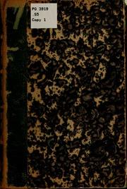 Souvenirs d-un exilé canadien