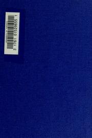 Souvenirs, impressions et réflexions