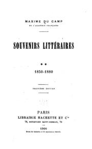 Souvenirs littéraires