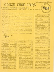 Special Coin Letter: 1970