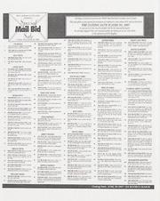 Special Mail Bid Sale: Summer 1997