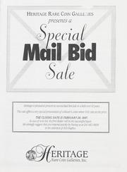 Special Mail Bid Sale: Winter 1997