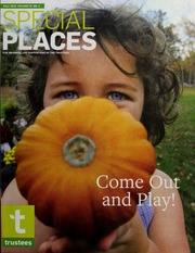 Vol 2015 Fall Vol. 23 No. 3: Special places : a newsletter of The Trustees of Reservations