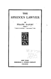 Image result for The Sphinx's lawyer