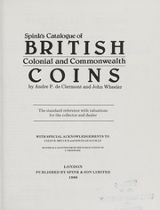 Spink's Catalogue of British Colonial and Commonwealth Coins