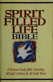 Spirit-Filled Life Bible-NKJ (Bible Nkjv) : Jack W  Hayford : Free