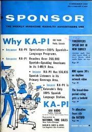 sponsor 1960