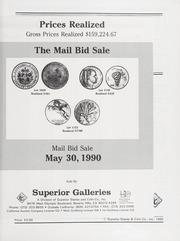 Spring 1990 Mail Bid Sale