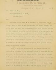 Phila. Squires claim for 1855 deposit
