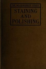 Staining and polishing : including varnishing & other