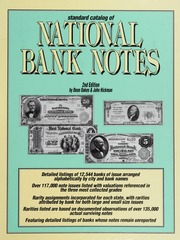 Standard Catalog of National Bank Notes, 2nd Edition