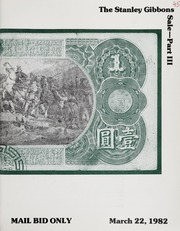 The Stanley Gibbons Sale: Part III