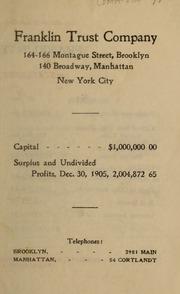Statement, December 30, 1905