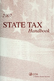 Top federal tax issues for 2012 2011 edition open library state tax handbook 2007 borrow 2004 cch federal tax borrow top multistate tax issues for 2008 cpe course fandeluxe Images