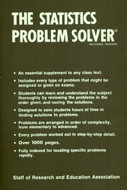 the algebra problem solver research and education association  borrow the statistics problem solver
