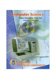 Computer Science Volume 1 (Std11 - English Medium) : Free Download
